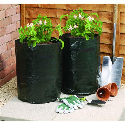 Potato Planterbag wilko grow bag potato 42l 2pk at wilko