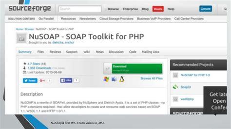 membuat web service dengan php nusoap nusoap test web services