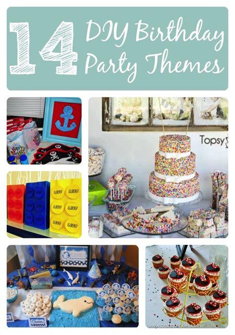 14 awesome diy kid birthday themes birthday