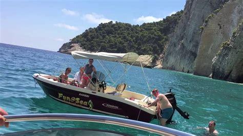 big blue boat hire zante summer in zakynthos fun sea boat rentals zante as you