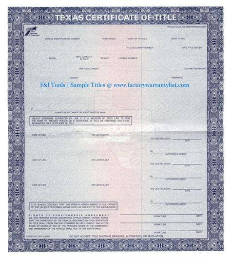 car title templates my vehicle title what does a car title look like