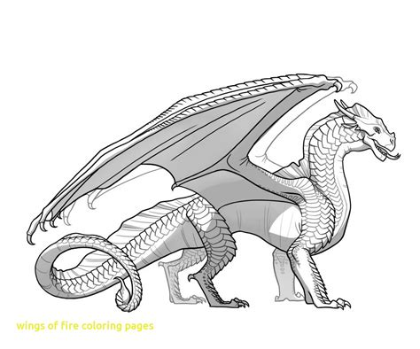 seawing dragon coloring page wings of fire coloring pages with seawings dragon from