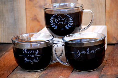 Coffee Mug Giveaways - personalized mugs coffee wedding favor wedding reception guest gifts winter