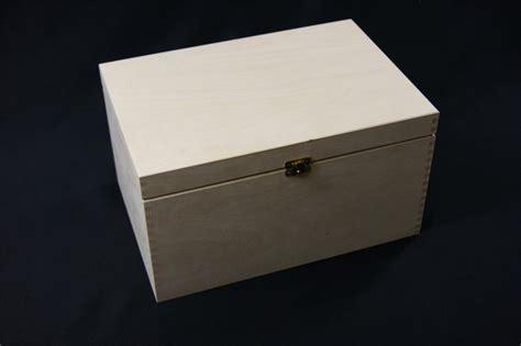 Decoupage Storage Boxes - plain wooden storage box chest decoupage craft trinket