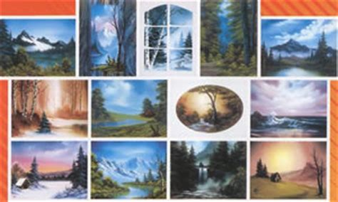 bob ross painting books bob ross of painting books