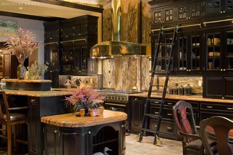 Custom Black Painted Maple Cabinets Located In Baltimore Baltimore Kitchen Cabinets