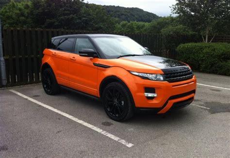 Rover Black Orange by Range Rover Evoque Black Or Orange Tinted Window