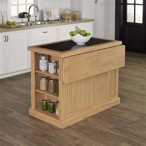 nantucket kitchen island home styles nantucket maple kitchen island with storage