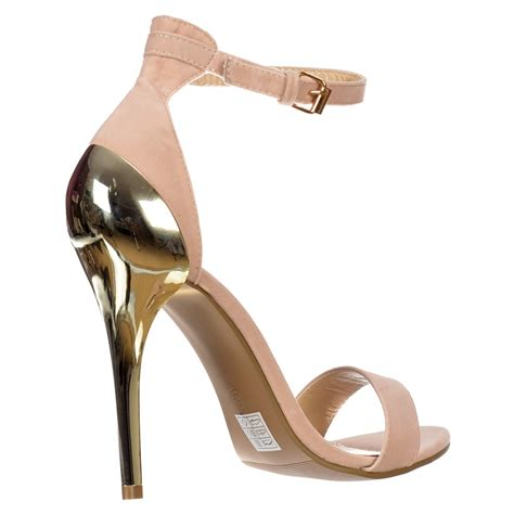 Sandal Strapy Heels Pn06 gold strappy sandals heels is heel