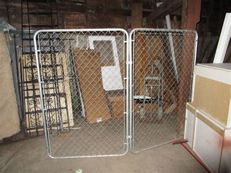 chain link fence sections chain link fence sections 8 x6 jesse james warehouse