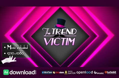 after effects free fashion templates adobe after effects free template videohive projects