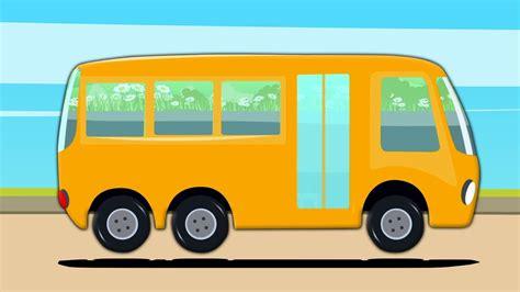 Kereta Anak Cars bas sekolah mencuci kereta kenderaan jalan