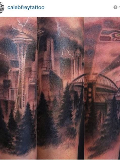 seattle tattoos 17 best seattle seahawks s images on