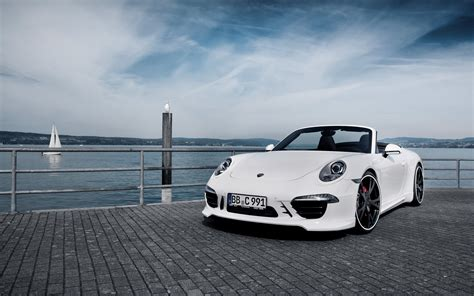 Car White Wallpaper by Porsche 911 S White Convertible 4k Ultra Hd