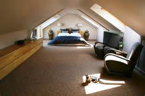 Bedroom Attic Ideas Creative Attic Bedroom Design Ideas With Black Soft Chairs