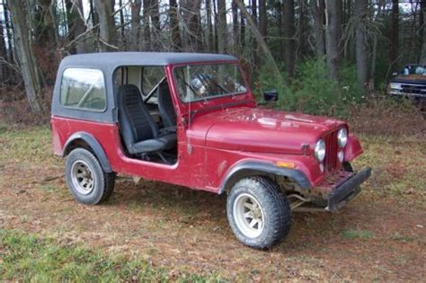 Jeep Cj7 Parts Sell Used 1984 Jeep Cj7 Cj 7 For Parts Runs And Drives In