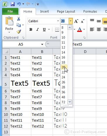 excel course cell size and formatting excel course the basics text formatting