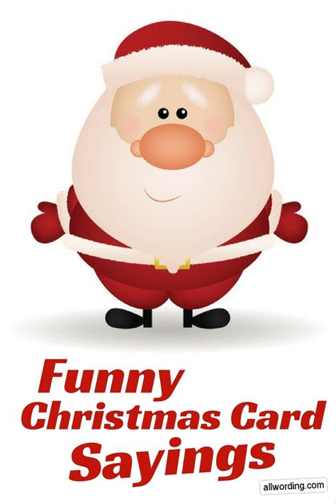Humorous christmas card quotes m4hsunfo