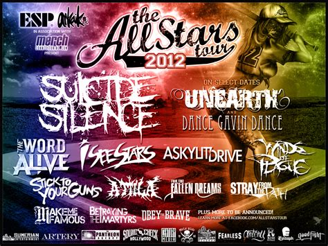 all about 2012 2012 all lineup images