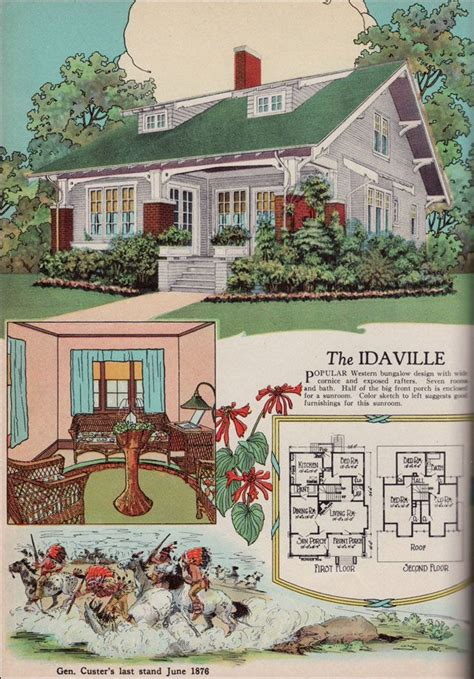 bungalow house plans 1920s 1920s american residential architecture 1925 american builder magazine house plans