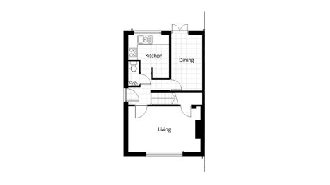 ground floor plan drawing cad planning drawings to swindon council project ben