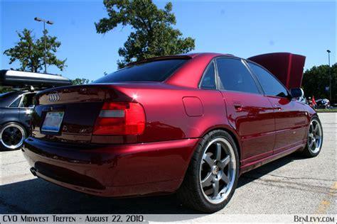 Burgundy Audi A4 BenLevy.com