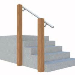 Stair Railing Attached To Wall Wall 570 Wall Mounted Stair Railing Easy Install