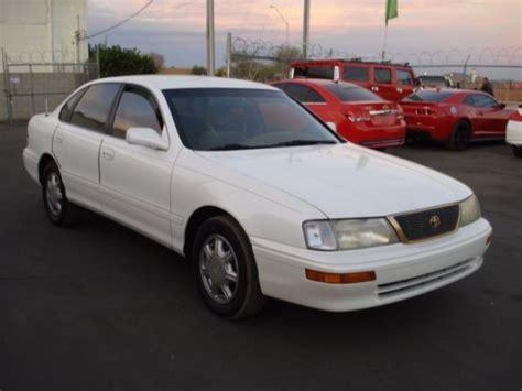 toyota avalon bench seat 1995 toyota avalon xl w bench seat 254000 miles white sedan 4 dr v6 cylinder en for
