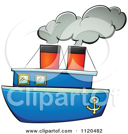 steamboat cartoon drawing steam boat clipart clipground