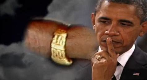 the obama s obama black muslim wedding ring etched quot no god but allah