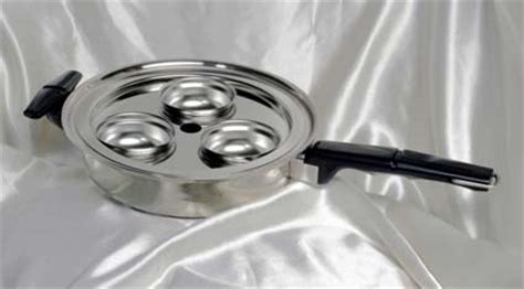 Fry Pan Egg Poacher 6 Holes vacumatic waterless cookware