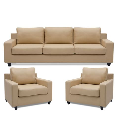 dolphin oxford leatherette 3 1 1 sofa set buy dolphin