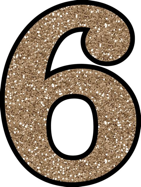 printable gold numbers glitter without the mess free digital printable glitter