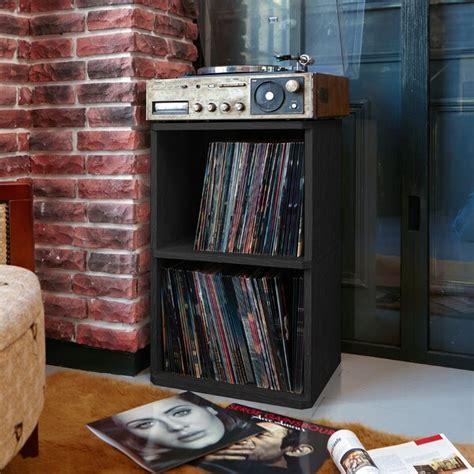 vinyl record cabinet wayfair