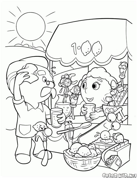handy manny coloring pages coloring page handy manny