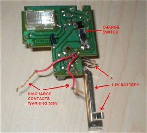step by step hacking a disposable camera flash unit to