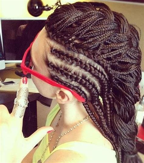 Multilayer Cornrows | multi layered french braid cornrows things to wear