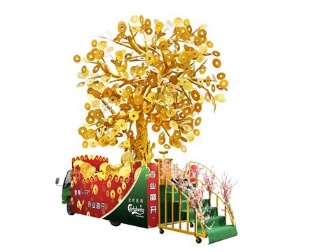 money tree for new year lynicious 10012013 carlsberg cny caign launch