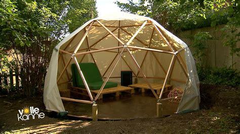 pavillon iglu wohnen design pavillon als chillout ecke im garten