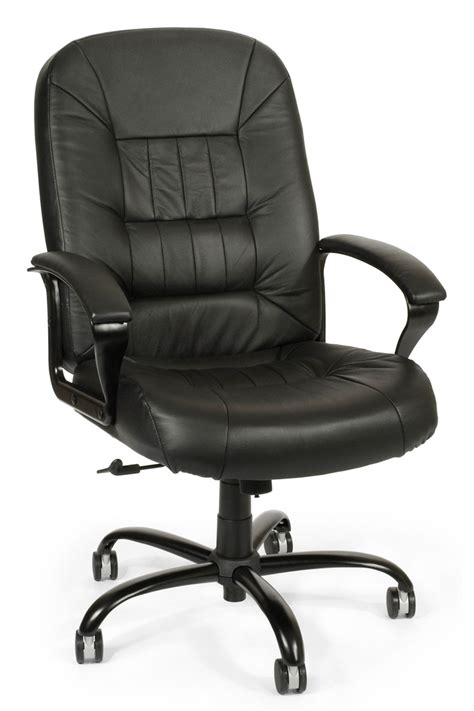 Office Chair by 800 L Ofm Big And Leather Office Chair Big And