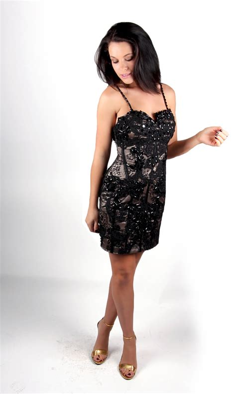 beaded cocktail dress black lace beaded cocktail dress alila