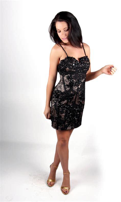 beaded black dress black lace beaded cocktail dress alila
