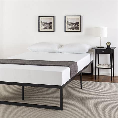 Metal Frame Bed by Zinus 14 Inch Metal Platform Bed Frame With Steel Slat