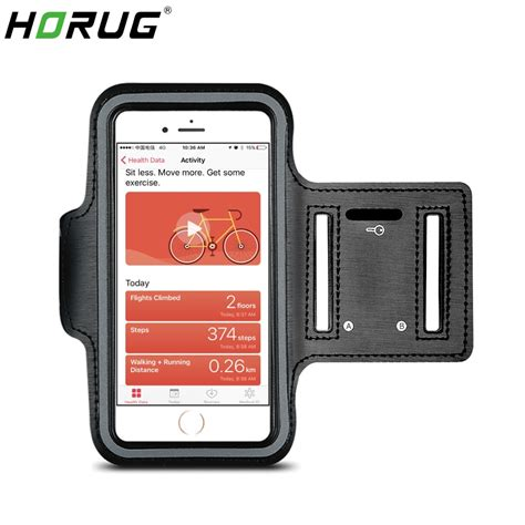 horug waterproof sports phone armband for iphone xs max running armband holder for phone on