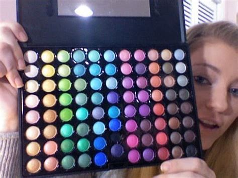 Mac Pallete 78 Original basic makeup for beginners using coastal scents 88 palette