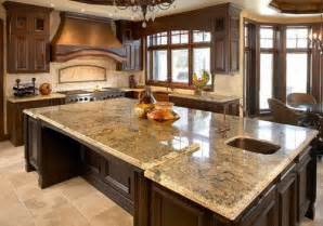 Modern Luxury Kitchen With Granite Countertop Discussions The Different Types Of Kitchen Countertops To Help You In Choosing The Best One