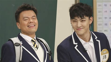 got7 on variety shows park jin young and got7 s jb to join kbs music variety