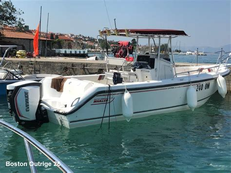 boston whaler boat weight boston whaler outrage 26 for rent njivice krk croatia