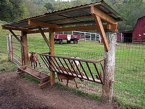 Hay Racks For Horses In Pasture by Hay Feeder For Goats Livestock Hay Feeder