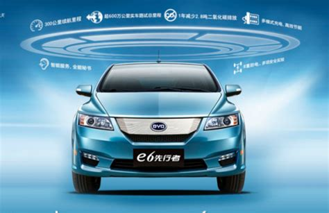 byd auto e6 china s electric car on sale in shenzhen